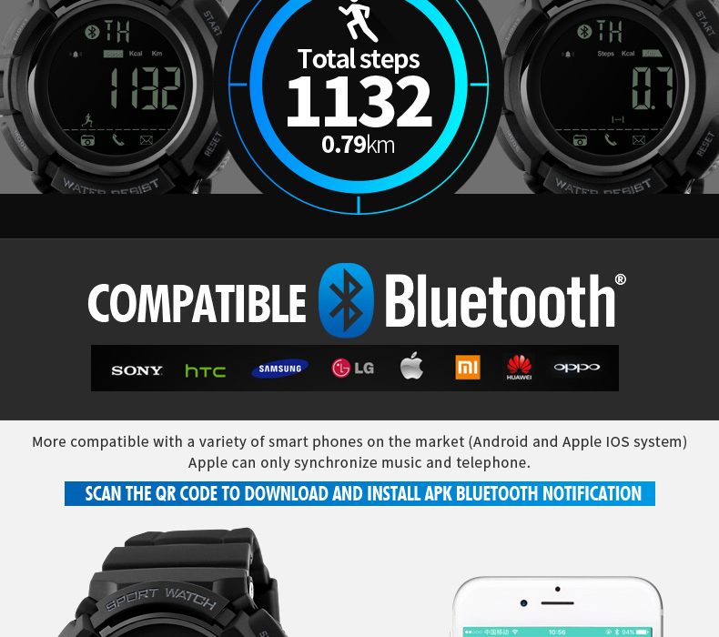 stock bluetooth smart watch d21