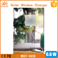 Adsorption Type window solar charger 5000mah power bank for Mobile Devices