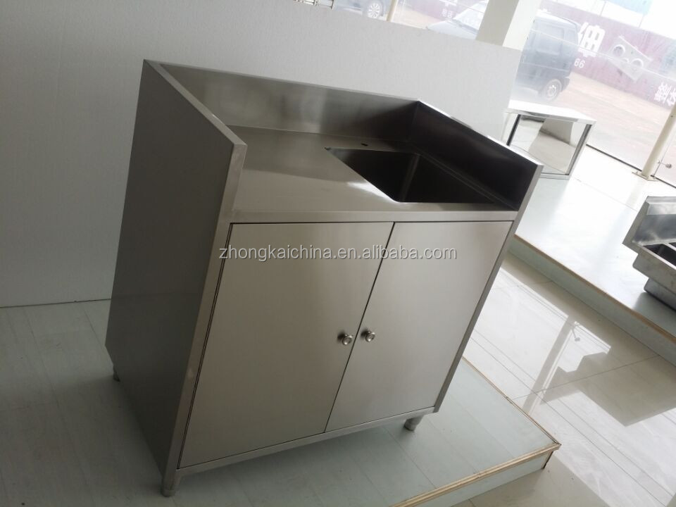 free standing cheap stainless steel commercial kitchen
