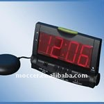 Big LED Vibrating alarm clock