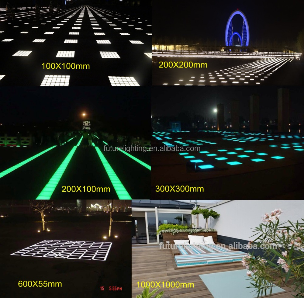 Outdoor color changing 300x300 mm 12V recessed road in-ground floor led paver light & Outdoor Color Changing 300x300 Mm 12v Recessed Road In-ground ... azcodes.com