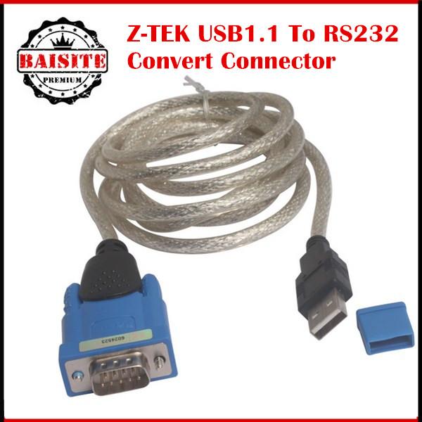 20 шт./лот DHL бесплатная доставка высокое качество низкая цена Z-TEK USB1.1 в RS232 преобразование разъем