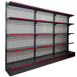Best price single side supermarket department store rack