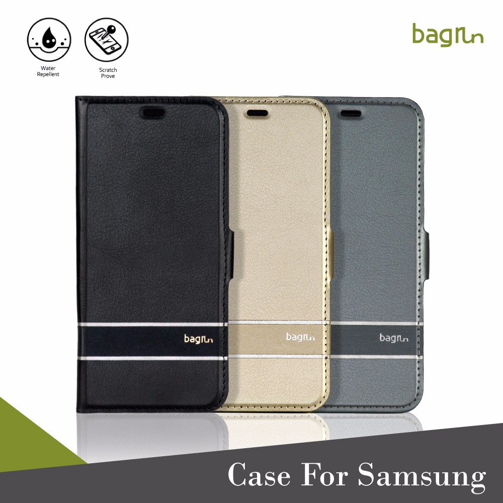 Slim Wallet Folder PU Leather Case For Cell Phone