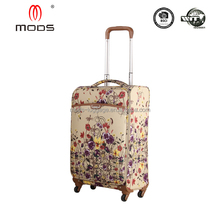 Hot sale Printing Polyester butterfly suitcase