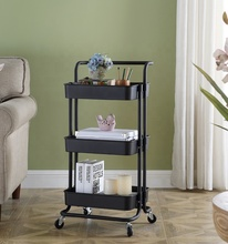 3 tiers furniture tool hand trolley/ utility trolley cart