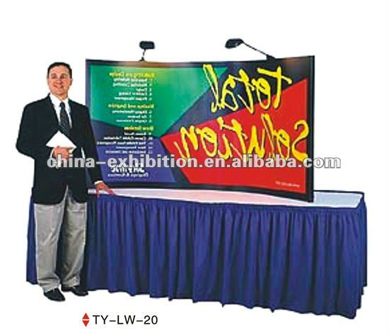 pop up display promotion table