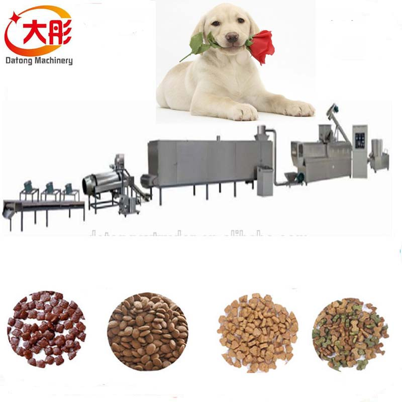 Full automatic aquarium dog feed pellets making machine