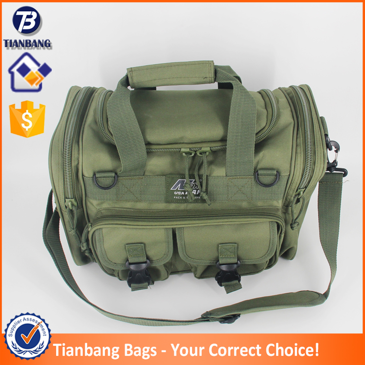 New Design Tactical Sling Bag Waterproof Travel Bag Army Green Military Bag