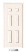modern house design wood veneer door skin / melamine molded wooden door