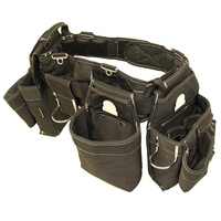Strong & Durable Carpenter Tool Belt Designed for Optimum Comfor-Sufficient Carry Space for All Your Carpenter Tools