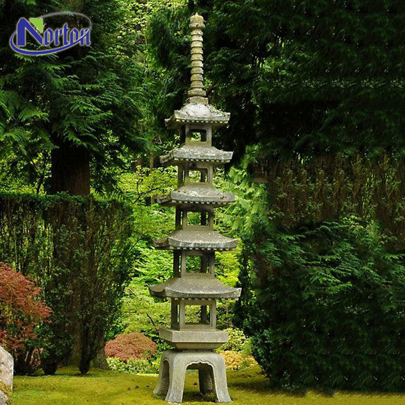 Excellent New Design Carving Japanese Stone Pagoda Granite
