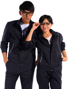 Customized Unisex Workwear Working Uniforms Breathable Factory Working Uniforms Short or Long Sleeve