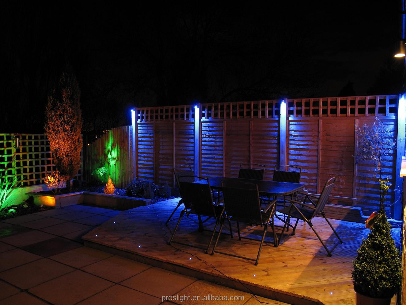 12v 3w 6w Ip68 Waterproof Outdoor Led Garden Light RgbLed Light