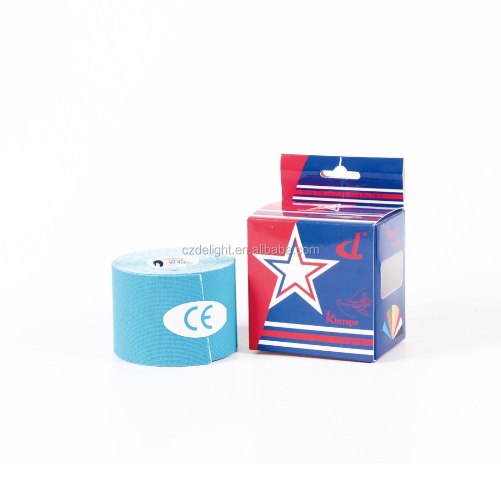 Manufacturer of Kinesiology Tape ! Single-sided Kinetic Sports Tape