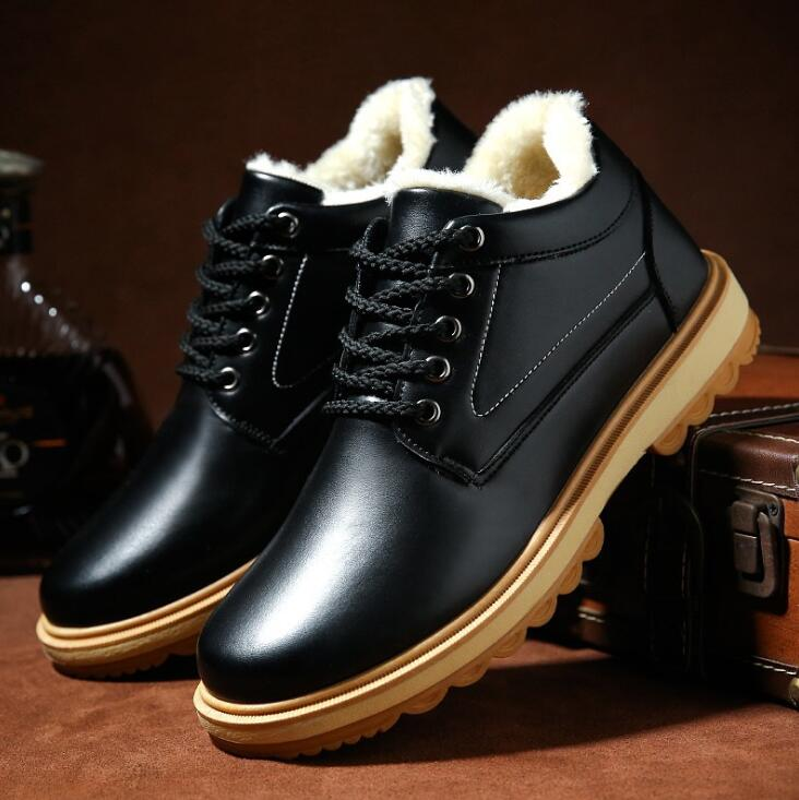 cy10490a 2017 winter new style men's shoes keep warm