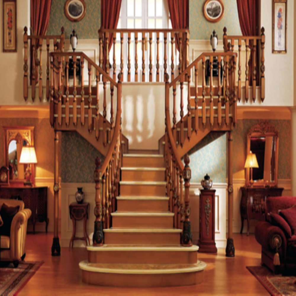 Escaleras De Caracol De Madera Para Interiores. Escalera De Caracol ...