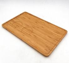 Custom Designer Bamboo Food Serving Tray