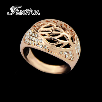 New Style 18K Rose Gold Plated Tanishq Jewellery Rings