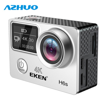 EKEN Action Camera EKEN H6S Native 4K Full-Time EIS Sports Camera 14MP Photo 170 Degree Wide Angle WiFi Control