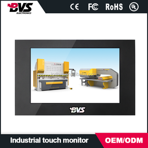 800x600 resolution 7inch Industrial Military monitor with Dust proof anti-static anti jamming