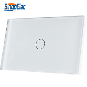 Bingoelec US/AU standard High quality luxury hotel touch electronic on off switch