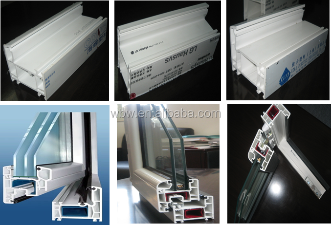 Windows Style Pvc Folding Doors Germany Roto Hardware High