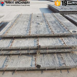 Precast concrete boundary walls concrete wall panel mould machine