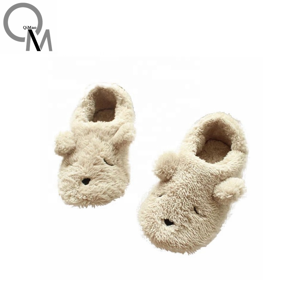 New Model Plush Animal <strong>Slipper</strong>,Closed Toe Style Cute Child <strong>Slipper</strong> For Sale