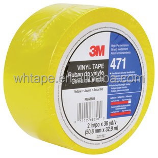 5.2mils thick Various Color Vinyl Rubber PVC Masking Tape 3M 471
