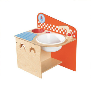 Kids Kitchen Wood Play Set Toy Mini Kitchenette