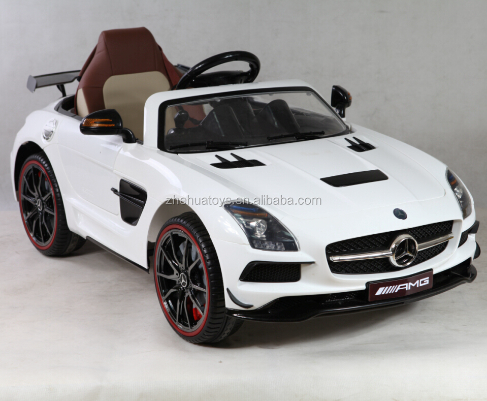 2015 new kids ride on car mercedes benz with leather seats