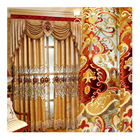 Wholesale Modern Hotel Living Room Fabric Cortinas/ Bedroom Rideaux, Luxury Ready Made Blackout Office Window Curtains&