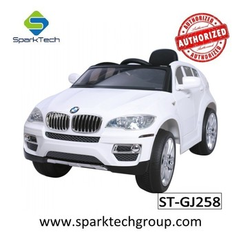 hot licensed bmw x6 children used in electric cars childrens ride on plastic car