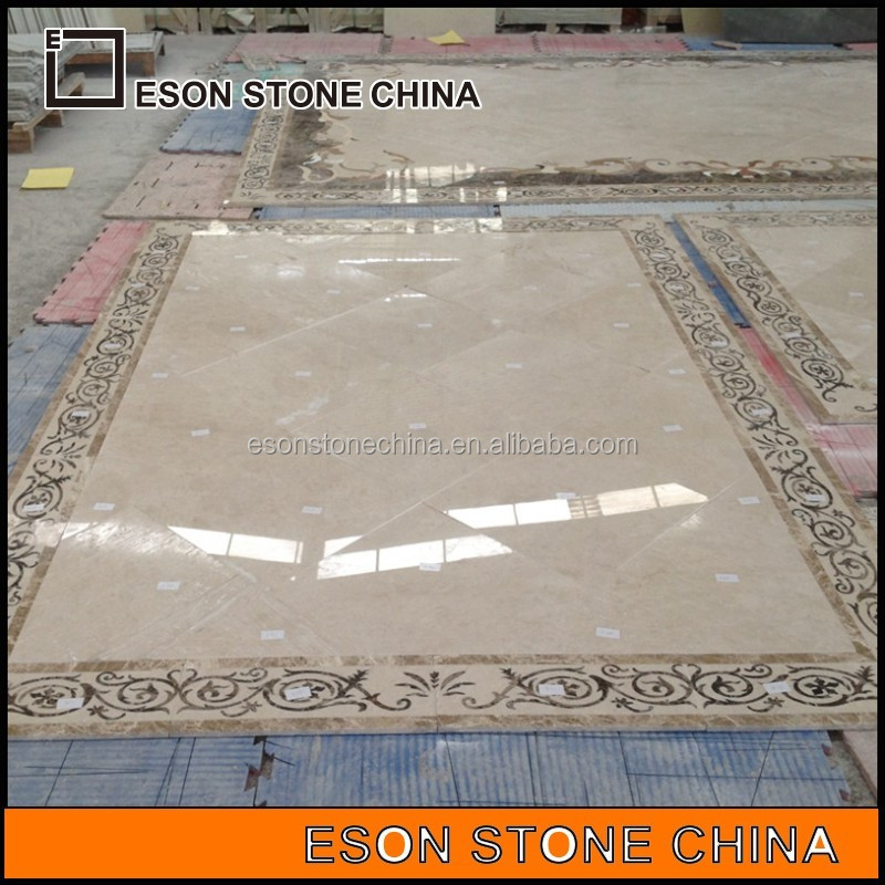 eson stone 167 water jet ceiling medallion,china beige marble medallion