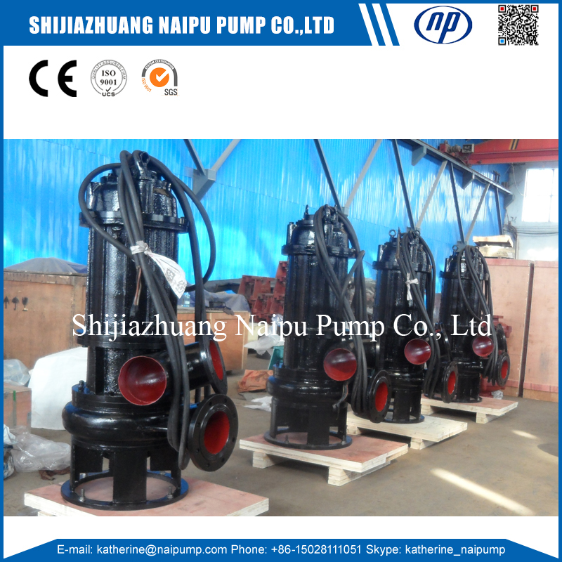 150WQ180-30-22 Dirty Water Using Submersible Centrifugal Sewage Pumps