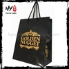 Customized colourful print logo carry tote paper bag