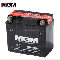 motorcycle battery YTX3L-BS