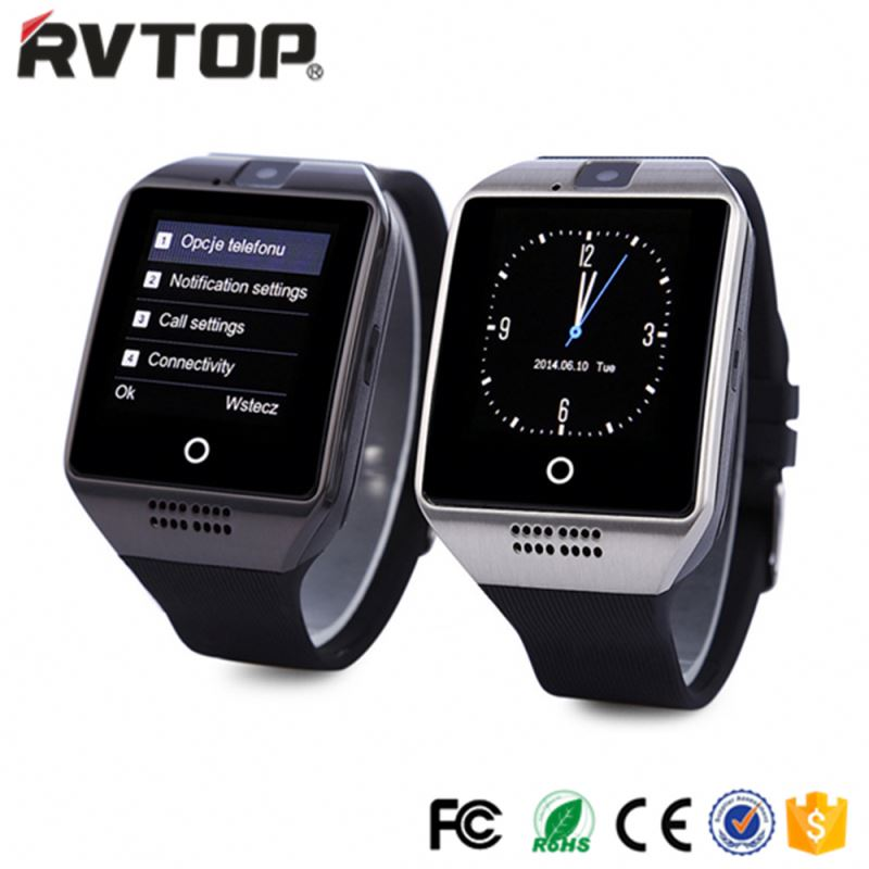 Hot Sale BLE Smartwatch Q18 Android Smart Watch With SIM Card and Camera Mobile Watch Phone For Samsung Galaxy S8