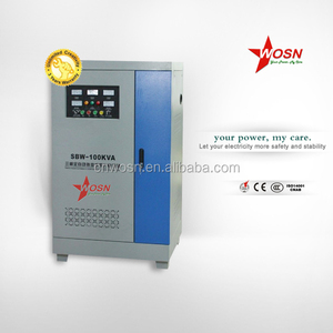 three phase avr portable 100kva industrial voltage regulator and stabilizer