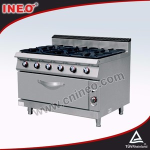 Commercial Restaurant cheap ovens and hobs/narrow stove oven