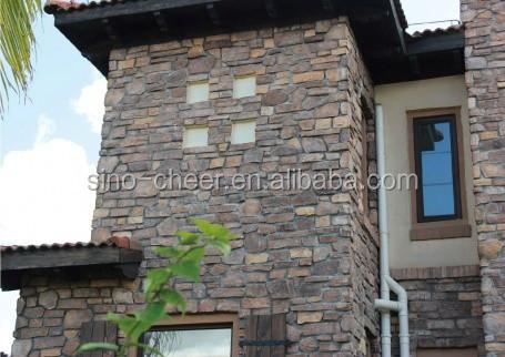 Flexibele klei interieur en exterieur moderne huis ontwerp