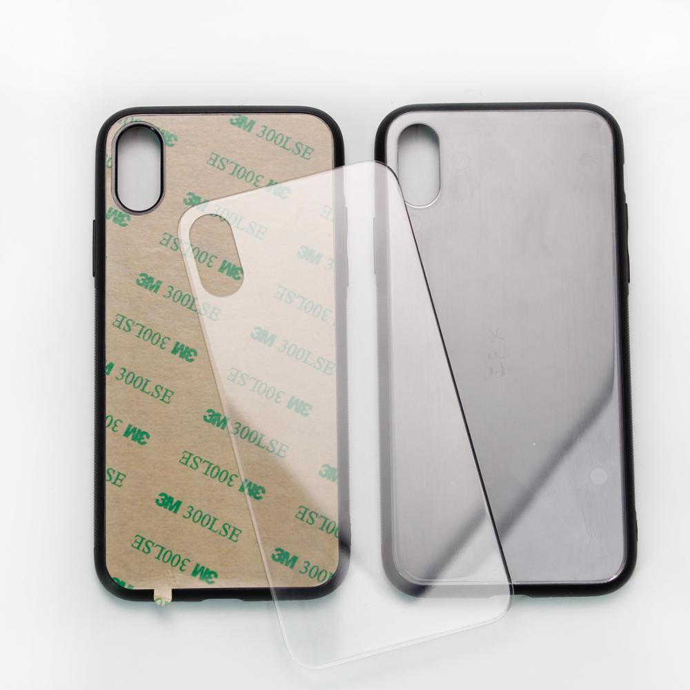 2D Sublimation glass <strong>Case</strong> Mobile Phone Blank Phone <strong>Case</strong> For Iphone xs Wholesale 2D Blank Sublimation <strong>Case</strong> with 3M glue