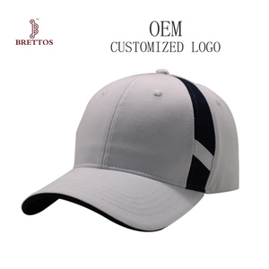High Quality Custom Plain White Baseball Cap In Cotton