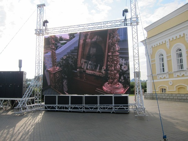 Los Angeles Jumbotron Rental Outdoor Clear View Led Video Screen ...