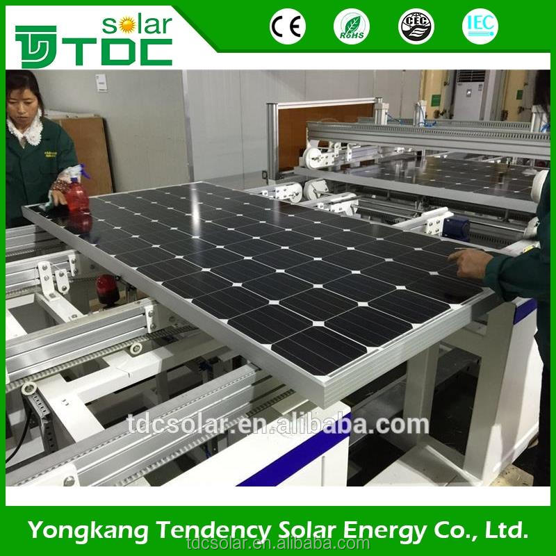 TDCsolar 280w 270 wp 265W Colombia modulos solares top 10 supplier mono pv solar modules 265 watt
