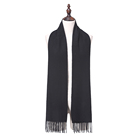 2019 Yiwu New Fashion Women Warm 12 Colors With Tassel Real Cashmere Scarf