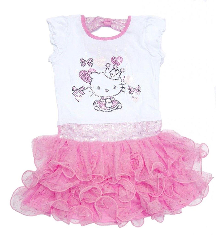 dd6b42ec1959f Cheap Hello Kitty Tutu Dress For Girls