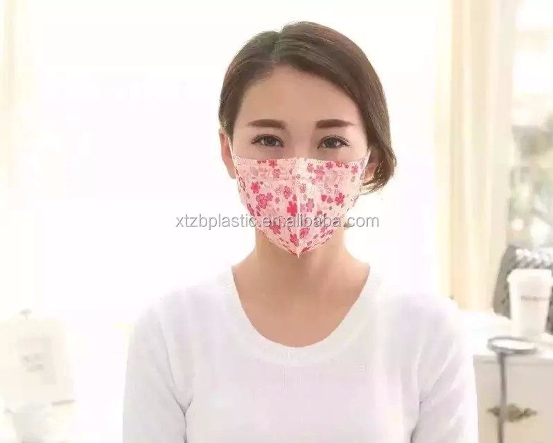 Cheap N95 Full Face Printed With Design Anti-pollution Dust Face Mask