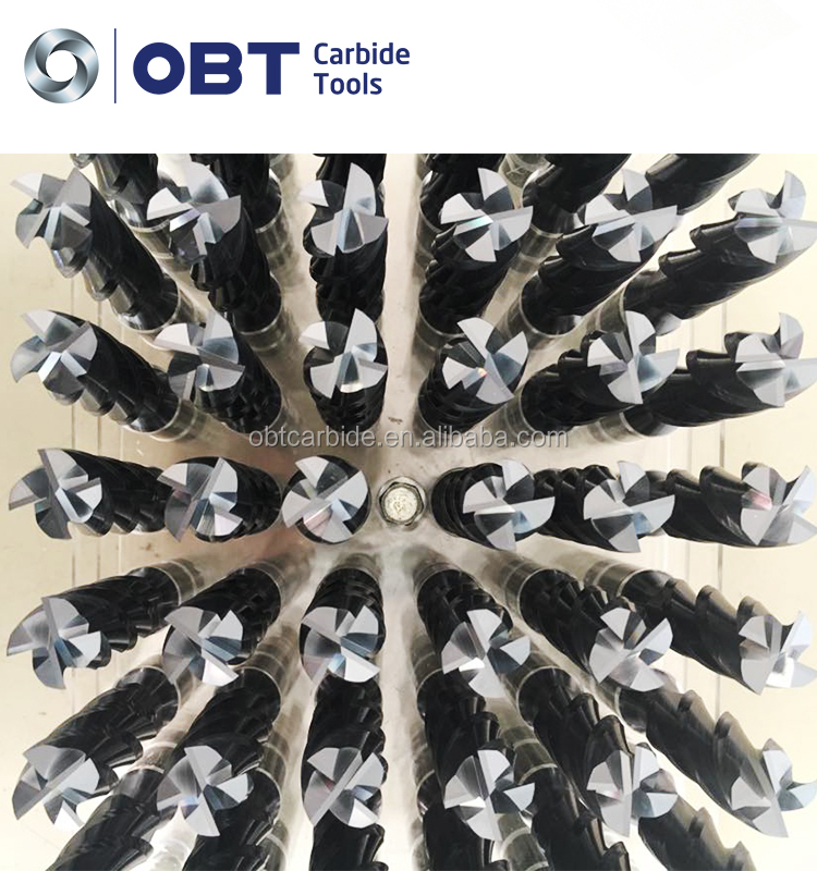 Cheaper price tungsten carbide end mill bits electropolishing tungsten plate for Industrial CNC tooling